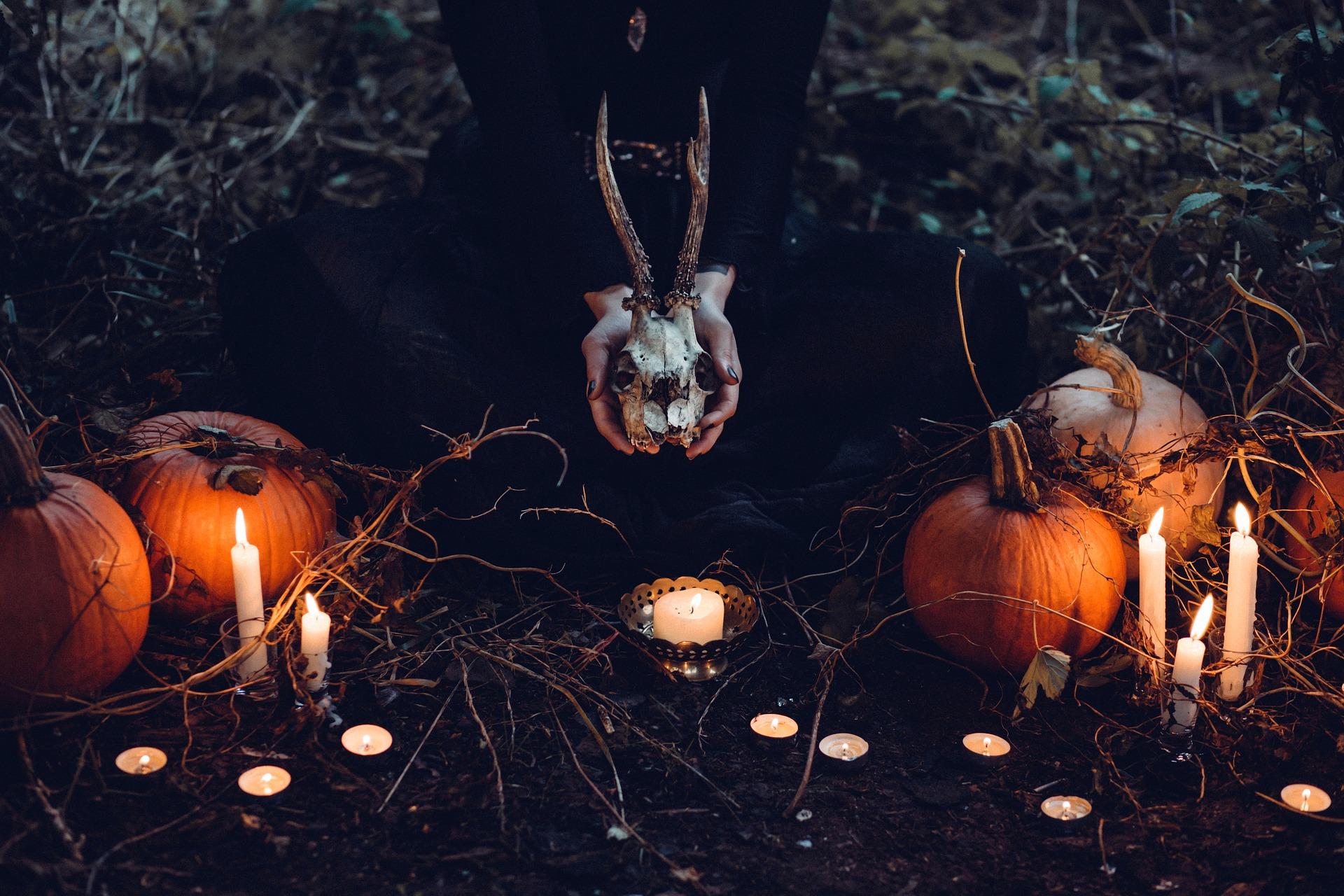 De dødes dag, Allehelgen, Samhain, fuldmåne, fuldmaane, ritual, selvudvikling, transformation, død, genfødsel